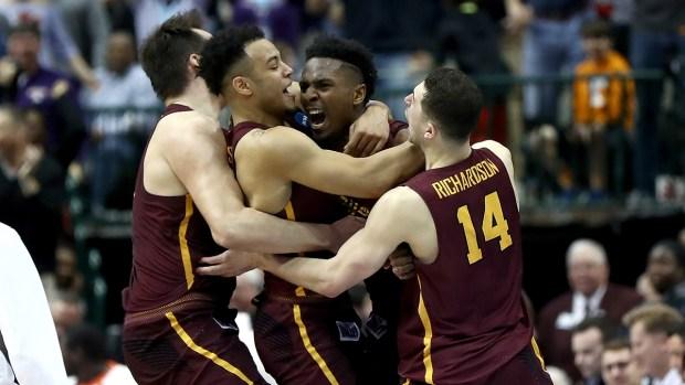 Top Sports Photos: Buffalo, Loyola Upset NCAA Bracket Favs