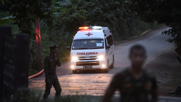 [NATL] Top News Photos: Thai Cave Rescues Continue With 8 Saved, 5 Still Trapped