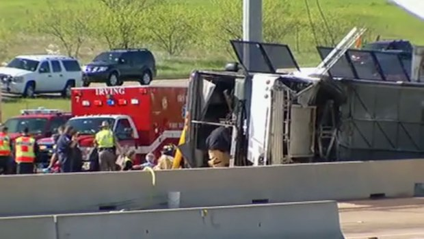 [DFW] Passenger on the Bus Describes Crash