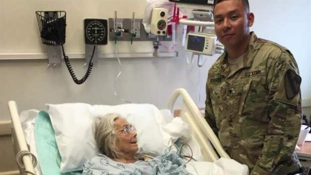 [DFW] 'Hug Lady' Who Greeted Texas Troops is Ill