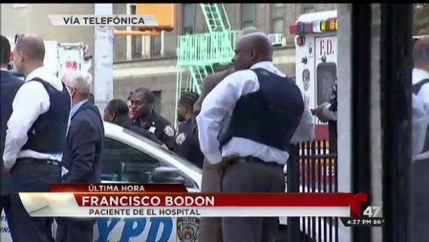 In Spanish: Patient at Bronx-Lebanon Describes Shooting