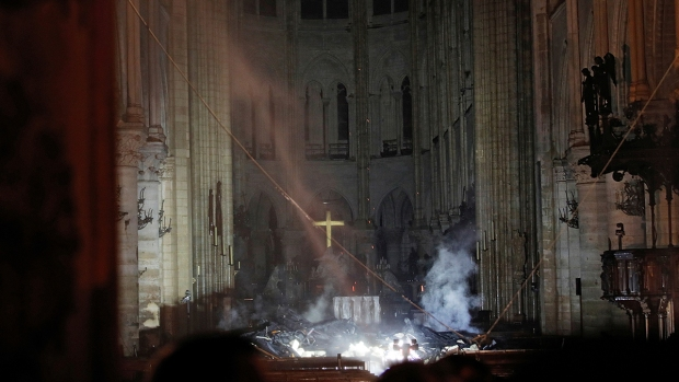 [NATL] Photos: Inside Notre Dame After Devastating Fire