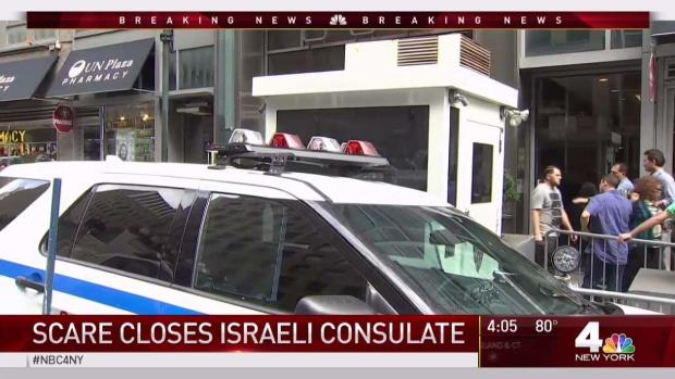 White Powder Sent to Israeli Consulate for 2nd Time in 4