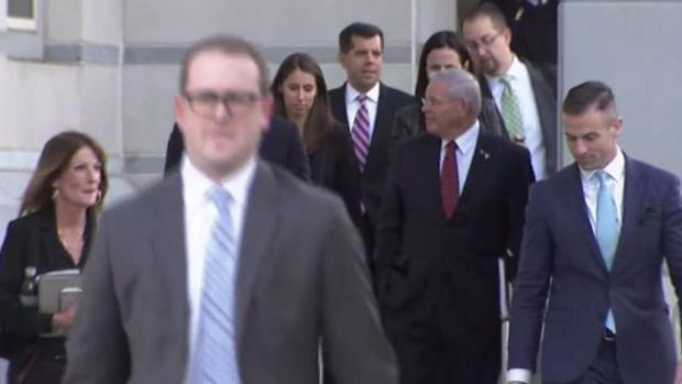 Judge declares a mistrial in Menendez's corruption trial
