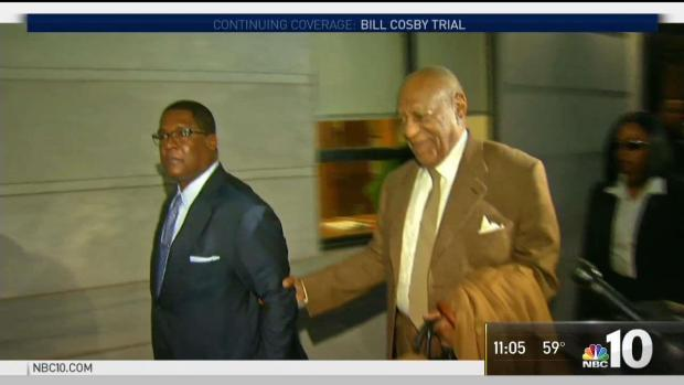 Cosby arrives for Day 3 of jury selection