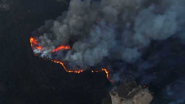 Residents Flee Homes as Wildfires Torch North Bay