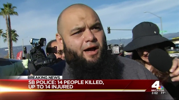 [NATL-LA] Husband Reacts to Mass San Bernardino Shooting
