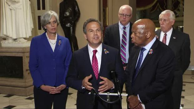House adjourns as Democrats vow to continue sit