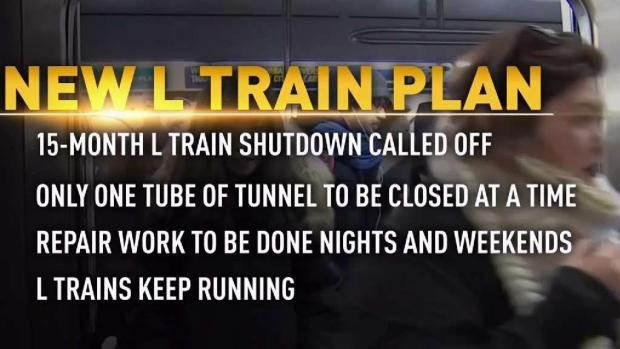 [NY] L Train Shutdown Called Off