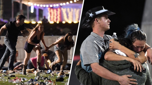 Dramatic Images: Dozens Die in Vegas Concert Shooting