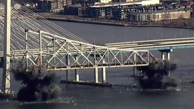 [NY] Last of Tappan Zee Bridge Demolished
