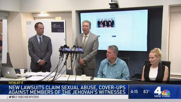 [NY] Lawsuits Claim Jehovah's Witness Member Abused Children