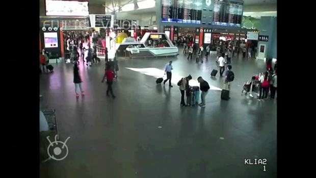 [NATL] Raw: Airport Video Shows Attack on Brother of N. Korea's Kim