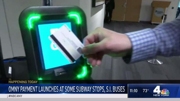 [NY] MTA Launches OMNY Tap-and-Go Payment System
