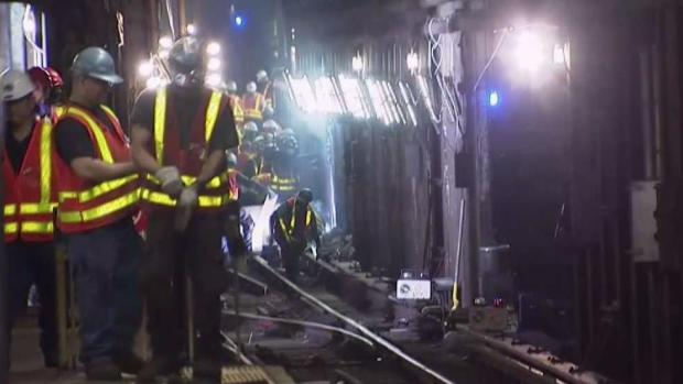 [NY] MTA Officials Blame Subway Derailment as Human Error