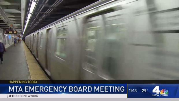 [NY] MTA to Hold Emergency Board Meeting About L Train Plan