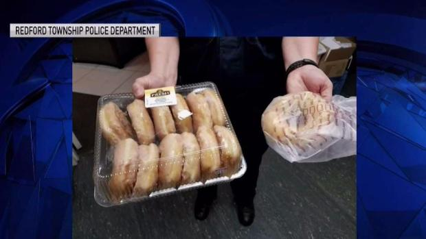 [NATL-MI] Man Brings Cops Doughnuts as He Turns Himself In