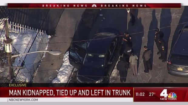 [NY] Man Found Tied Up in Trunk of Car in NJ: Sources