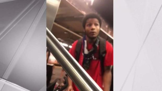 [NY] Man Threatens Straphanger in Screaming Tirade on Subway