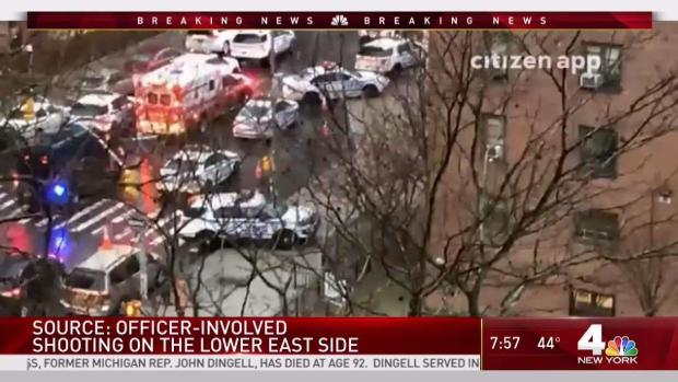 [NY] Man Wielding Knife Shot by Police in LES: Sources