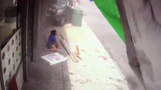 [NY] Man in Motorized Scooter Hit as SUV Smashes Into Store