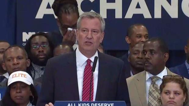 [NY] Mayor: Eliminate Admissions Test for Elite High Schools
