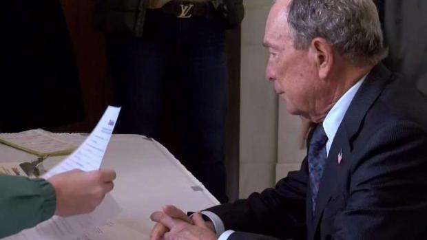 [NY] Michael Bloomberg Launches Democratic Presidential Bid