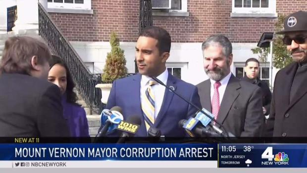 [NY] Mount Vernon Mayor Arrested on Corruption Charges