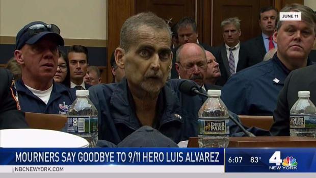 [NY] Mourners Show Up at 9/11 Hero Luis Alvarez's Wake