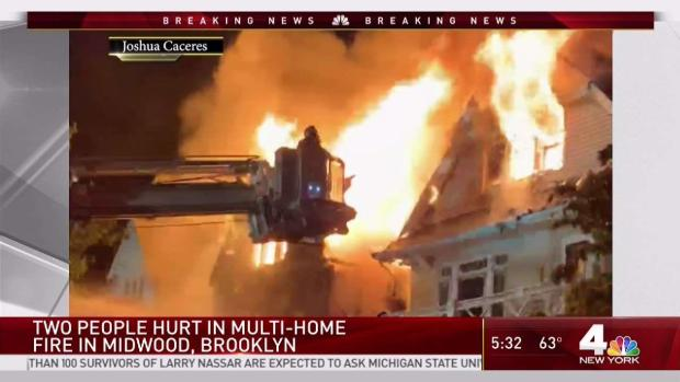 [NY] Multiple Hurt in Raging Brooklyn Fire