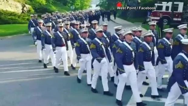 [NATL] Video Appears to Show West Point Cadet Texting During Graduation March