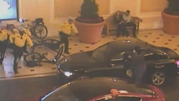 Deadly Bellagio Shooting on Vegas Strip Caught on Camera
