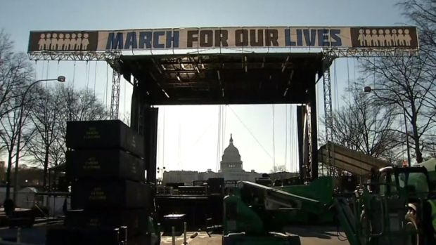 "[NATL] Thousands Gather for ""March For Our Lives"""