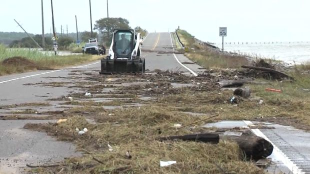 [NATL] Cleanup Begins After Hurricane Nate Slams Gulf Coast With Flooding and Downed Power Lines