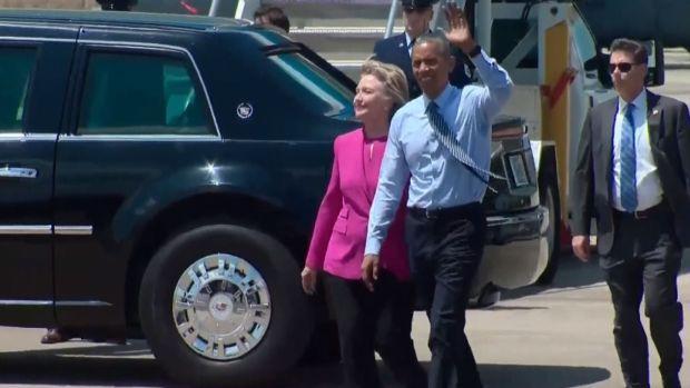[NATL] Obama Stumps For Clinton in North Carolina