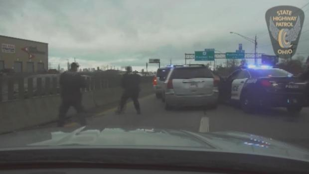 WATCH: Woman 'on Way to Work' Leads Cops on High-Speed Chase