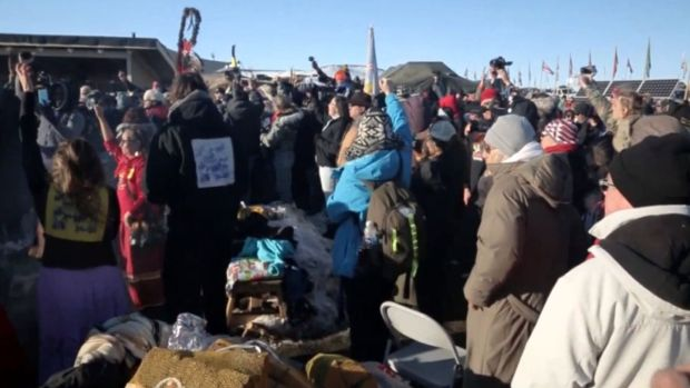 [NATL] Dakota Access Pipeline Halted After Months Of Protest
