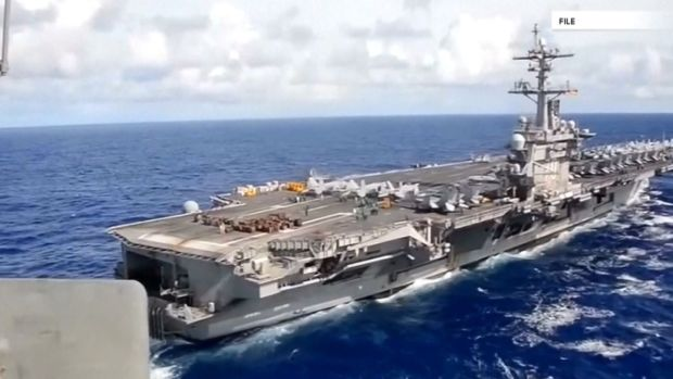 [NATL] White House Defends Aircraft Carrier Claim