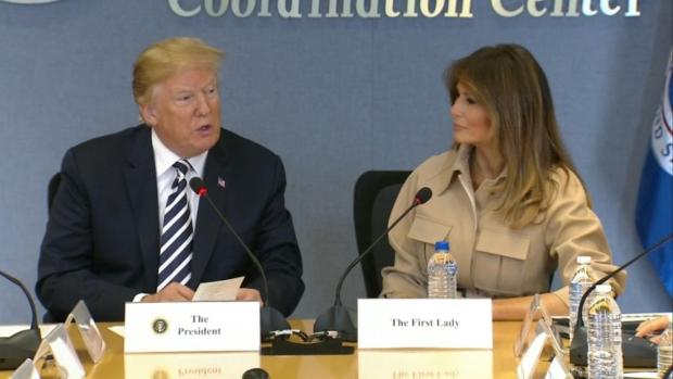 [NATL] Melania Trump Makes First Public Appearance in Weeks