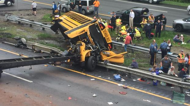 [NY] NJ Field Trip Turns Deadly After School Bus Crash