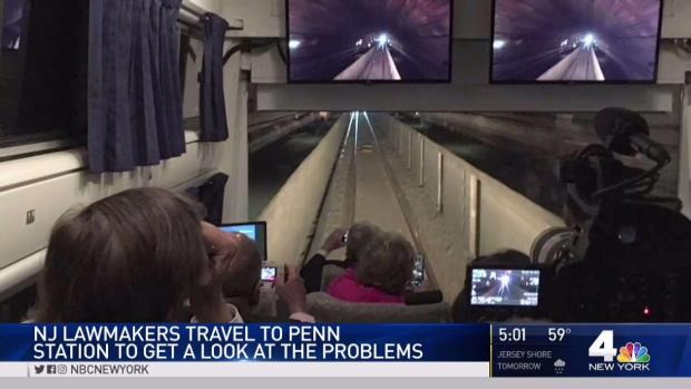 [NY] NJ Lawmakers Travel to Penn Station to Observe Problems