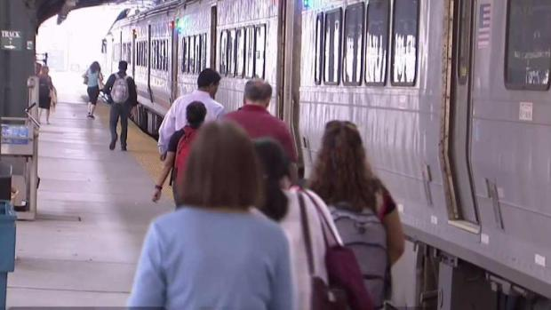 Double dose of train troubles cause headaches for Penn Station commuters
