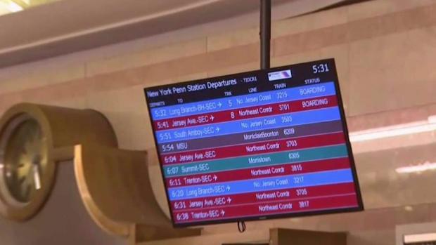 NJ Transit service restored after derailment at Penn Station