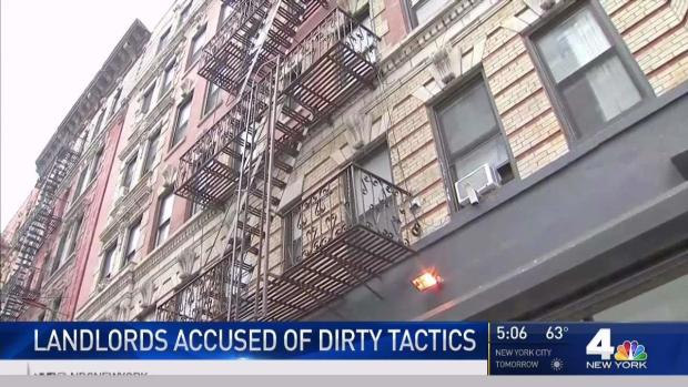 [NY] NYC Landlords Accused of Dirty Tactics