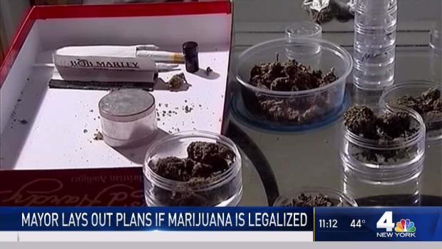 [NY] NYC Mayor Lays Out Plans if Marijuana is Legalized