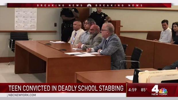 [NY] NYC Teen Found Guilty of Stabbing Classmate to Death