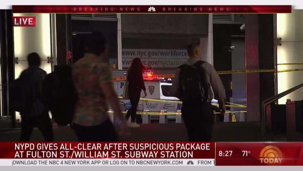 NYPD Gives All-Clear on Fulton Street Devices