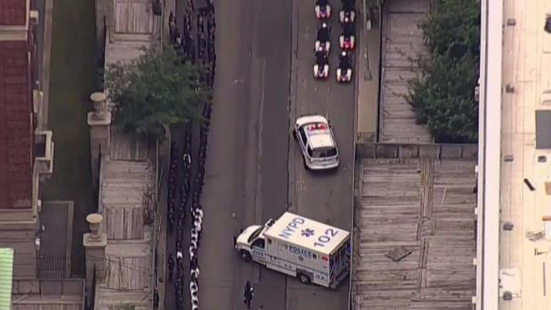 Police continue to investigate deadly ambush of NYC officer