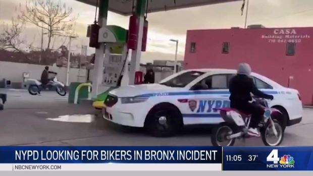 [NY] NYPD Investigates After Bikers Surround Lone Cop