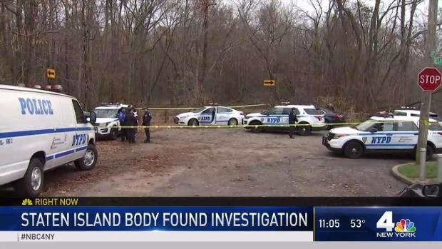 [NY] NYPD Investigates After Body Found in Staten Island